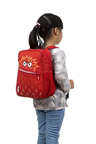 Backpack Talking ZIPIT Red ZIPIT Monstar Monstar Talking red Backpack n7Y4awq