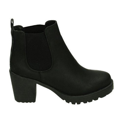 King Of Shoes Women's Classic Boot Black xhzGQe