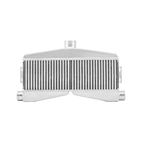 (CXRacing 2-In-1-Out Twin Turbo Bar & Plate Intercooler)