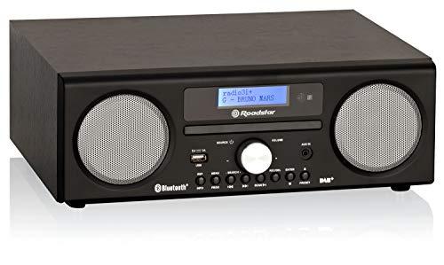 Roadstar HRA-9D+BT digitale radio met cd-speler en Bluetooth. Opnamefunctie. (DAB, DAB+, FM, RDS, USB, 75 Ohm…