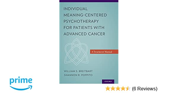 Individual Meaning-Centered Psychotherapy for Patients with