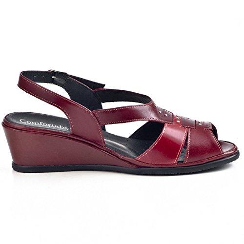 Comfortabel Comfortabel Sandalette Damen Mujer Zapatos Rot dYPq6xwgP