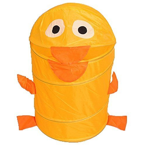 Laundry Hamper, Foldable Pop-Up Laundry bag with Good - Animal Hamper Wicker