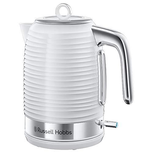 Russell Hobbs Inspire Blanco - Hervidor de Agua (Electrico, 17 l, 2400 W, Blanco) - ref 24360-70
