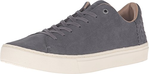 TOMS Men's Lenox Castlerock Grey Suede Sneaker 9.5 D (M)