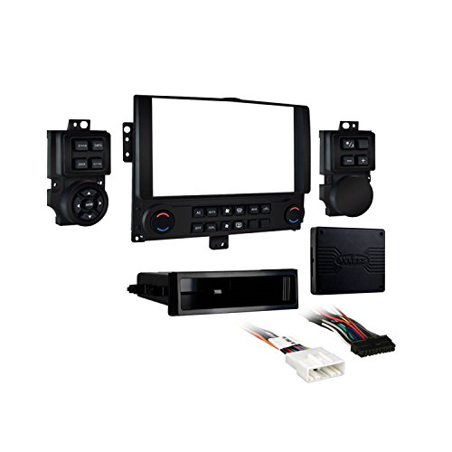 Metra 99-7610B Nissan Versa/Juke Single or Double DIN Dash Kit , Black ()