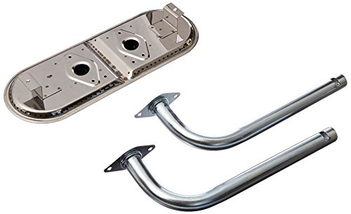 (Music City Metals 13082 Stainless Steel Burner Head Replacement for Select Charbroil Gas Grill Models)