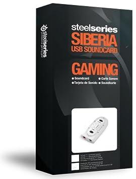 Amazon.com: Steelseries Siberia USB Tarjeta de sonido ...