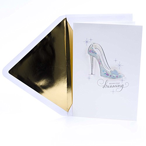 Hallmark Signature Birthday Card (Disney Cinderella) ()