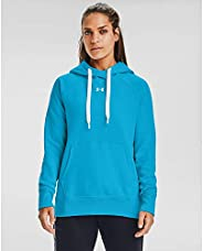 Under Armour Womens Rival Fleece Pull-Over Hoodie Hoodie
