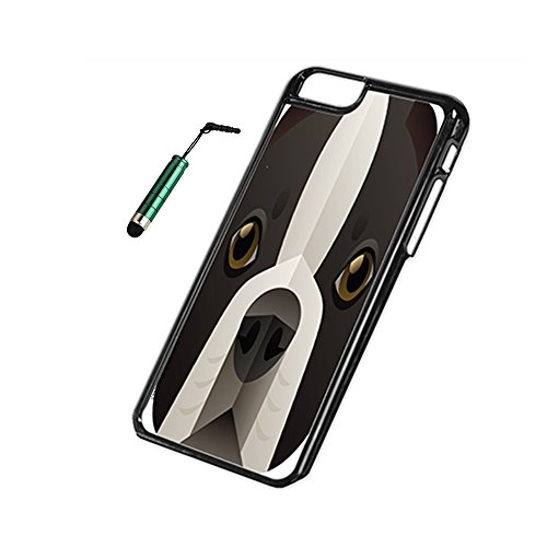 Boston Terrier - iPhone 6 Black Cover Case