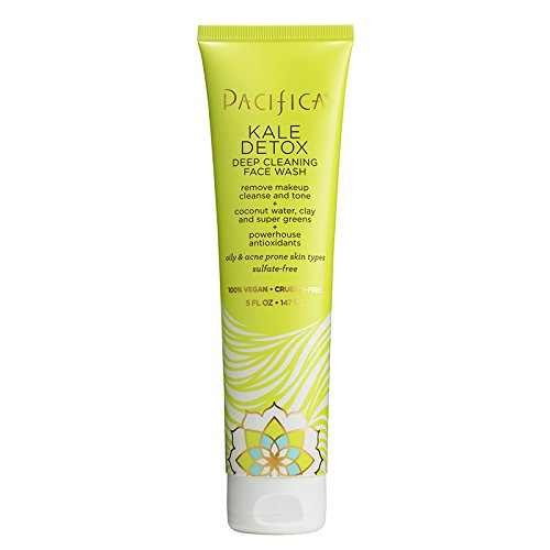 Pacifica Beauty Kale Detox Deep Cleansing Face Wash