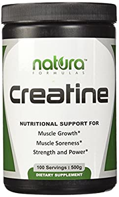 #1 Pure Micronized Creatine Monohydrate Powder - 100 Servings | 500g - Unflavored - The Best Bodybuilding Supplement to Boost Power, Reduce Soreness and Build Muscle Mass - Get Results or Your Money Back