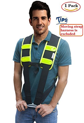 Moving Straps Harness Pad - AritGifts Lifting Straps Shoulder Pad for Protect Shoulder & Back Without Pain, Great Tool to Pro Movers, 1 In Package (No Straps) (Pads Shoulder Harness)