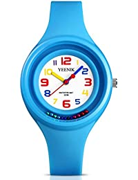 Kids Sport Watch with 50M Waterproof, Quartz Wrist Watch...