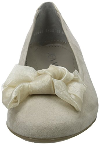 Chiusa cotton Donna Lino Punta Pisa Jenny 05 Beige Ballerine xq7tPp
