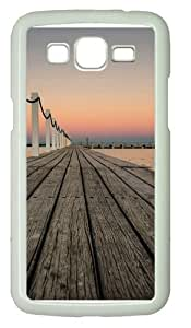 Samsung Grand 7106 Case, Samsung Grand 7106 Cases -Bridge Custom PC Hard Case Cover for Samsung Grand 2/7106 White