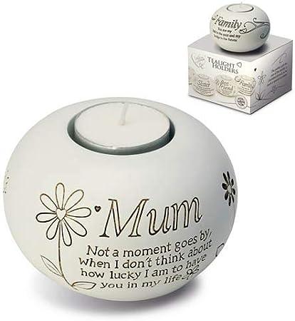 New Said with Sentiment Tea light Candle Holder Mum