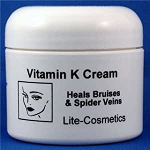 Lotions with vitamin k