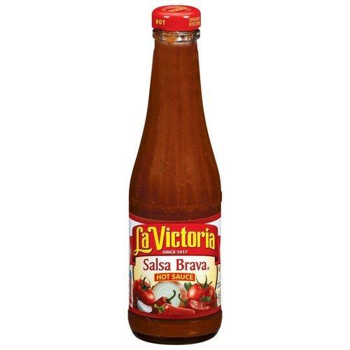 La Victoria Sauce Hot Salsa Brava