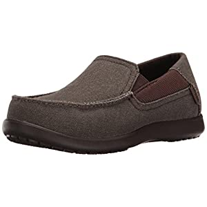 Crocs Kids' Santa Cruz II Grade School Loafer