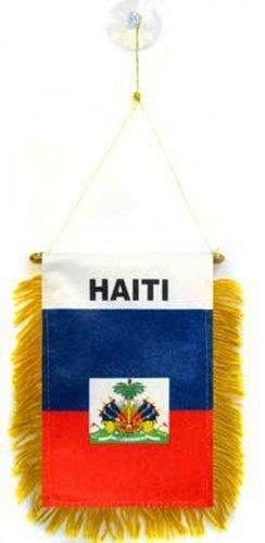 Haiti National Flag Mini Banners, 4