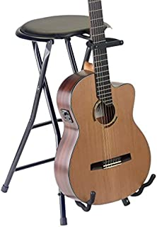 Stagg GIST-350 Foldable Round Stool with Built-In Guitar Stand  sc 1 st  Amazon.com & Amazon.com: Stagg GIST-300 Foldable Stool with Built-In Guitar ... islam-shia.org