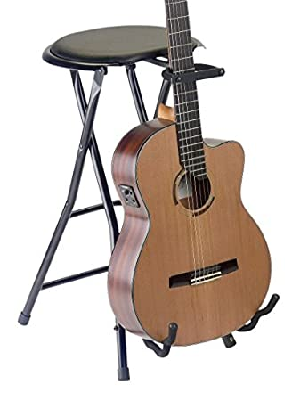 Stagg GIST-350 Foldable Round Stool with Built-In Guitar Stand  sc 1 st  Amazon.com & Amazon.com: Stagg GIST-350 Foldable Round Stool with Built-In ... islam-shia.org