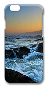 iphone 6 4.7inch Case Stormy waves PC Hard Plastic Case for iphone 6 4.7inch