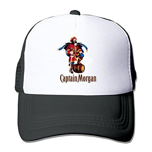 Truck caps Cool Captain Morgan Men Women cap Black (5 colors)