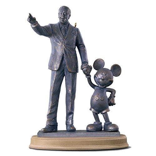 (Hallmark Keepsake Christmas Ornament 2018 Year Dated, Disney Mickey Mouse Partners Walt)