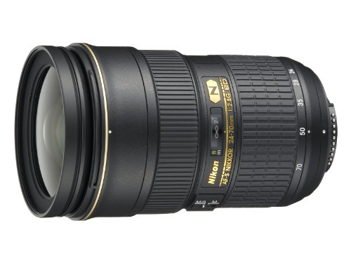 Nikon AF-S FX NIKKOR 24-70mm f/2.8G ED Zoom Lens with Auto Focus for Nikon DSLR Cameras (Nikkor 24 70mm F 2-8 G Ed)