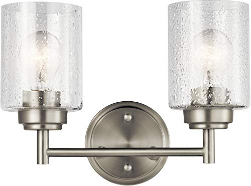 Kichler Lighting 45885NI Two Light Bath from The Winslow Collection