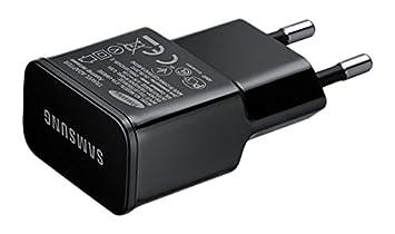 Samsung ETA-U90EBE - Cargador (Interior, Teléfono móvil, USB, Negro, Galaxy S2, S3, S3 Mini, S4, S4 Mini, S5, 100-240)- Versión Extranjera