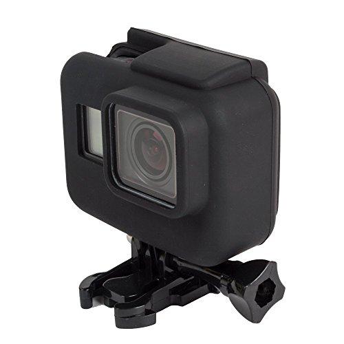 PUBAMALL Funda para GoPro Hero 7/2018/6/5, Cubierta de Silicona/Funda Protectora para GoPro Hero 7/2018/6/5, cámara...