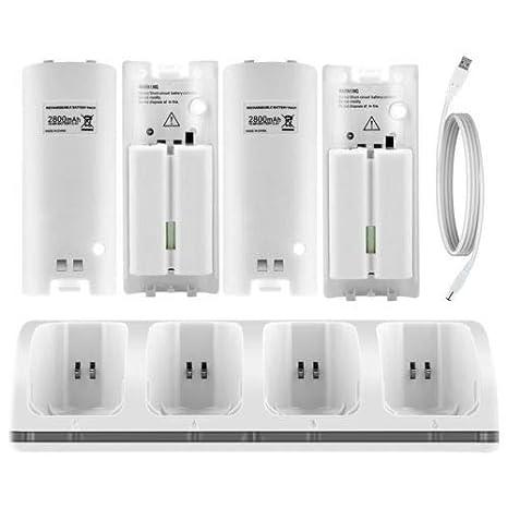 Amazon.com: FidgetKute - Estación de carga y 4 cargadores + ...