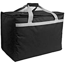 """Candid- Insulated Food Delivery Bag (21""""L x 14""""W x 15""""H), Hot/Cold Thermal Lightweight Grocery, Catering, Delivery or Party Bag."""