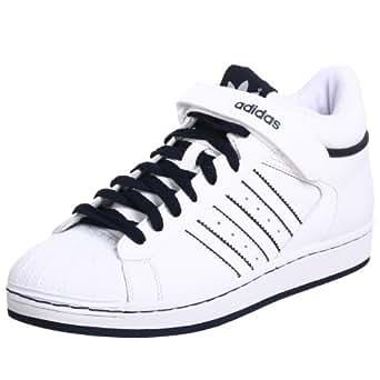adidas Originals Men's Pro Shell Sneaker,White/White/Navy,14 M US