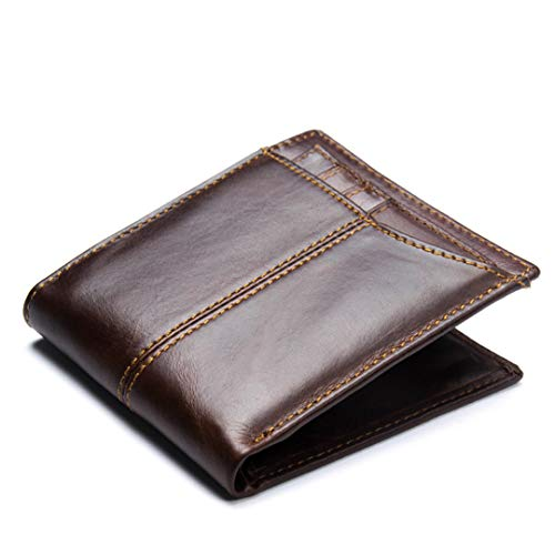 Amazon.com: SaoLangtame Natural Genuine Leather Men Wallet ...