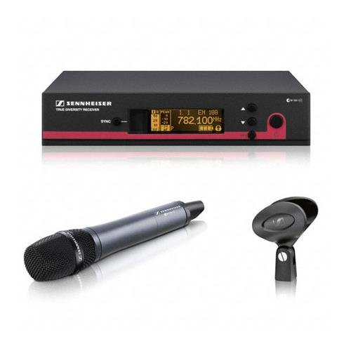 - Sennheiser ew 100-935 G3 Cardioid Microphone Wireless System Band B