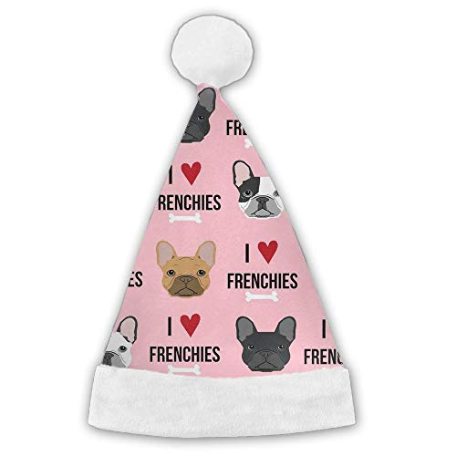 Kux14Bt I Love French Bulldogs Funny Party Hats