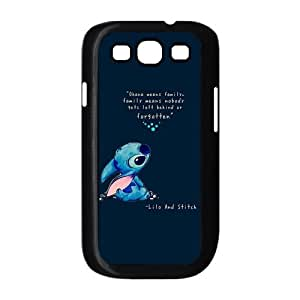 Fashion Lilo and Stitch OHANA Hard Back Case Cover Skin for Samsung Galaxy S3 i9300