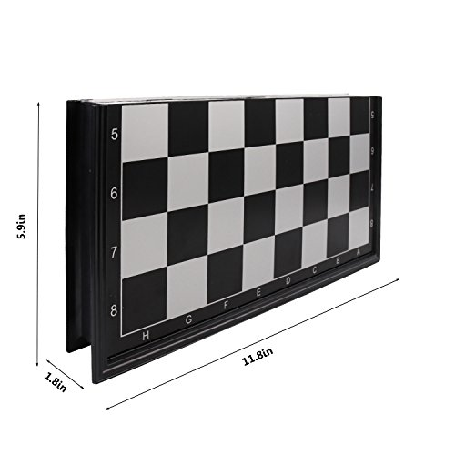 Magnetic Chess Set, KAILE Travel Magnet Chess with Folding Case Instructions Magnetic Chess for Kids Adults by KAILE (Image #3)