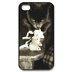 Cute and Lovely Cat Design Cheap Custom Hard Case Cover for iPhone 4,4S, Cute and Lovely Cat iPhone 4,4S Case