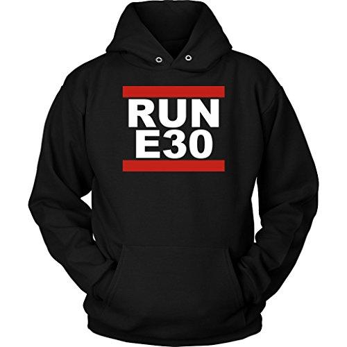 RUN E30 BMW E30 EURO Tuner Hoodie Sweatshirt