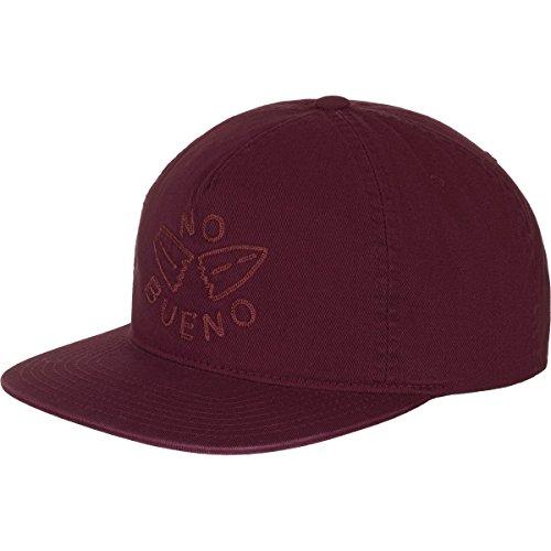 Hurley Men's Men's No Bueno Hats, Mahogany, One Size (Hat Embroidered Hurley)