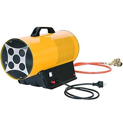 Generador de aire caliente a Gas Propano / Butano GLP 10,5 kw estufa Cañón