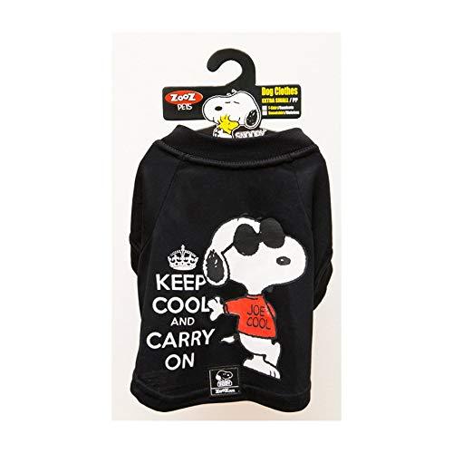 Camiseta Snoopy Charlie Zooz Pets para Cães Keep Cool - Tamanho M