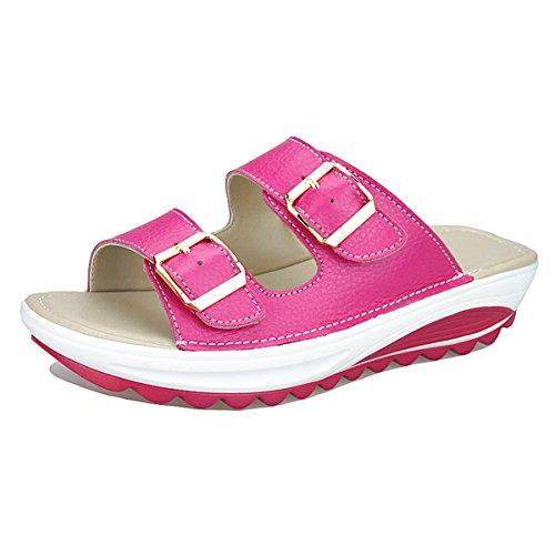 Slip Verano Beach Zapatos Plana Peep Casual Verano Slip de Vacaciones gracosy 230e15