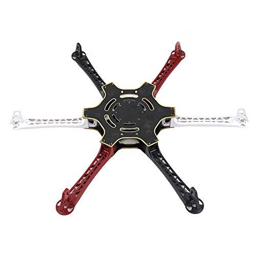 Andoer F550 6-axis Quadcopter Multirotor Hexacopter Air Frame Kit Flame Wheel for DJI KK MK MWC